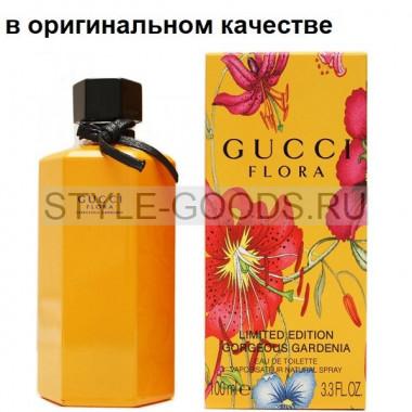 Парфюм Gucci Flora Gardenia (желтая),100 мл (ж) с Б/К