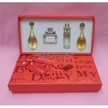 Набор парфюмерии Dior 4 х 30 мл