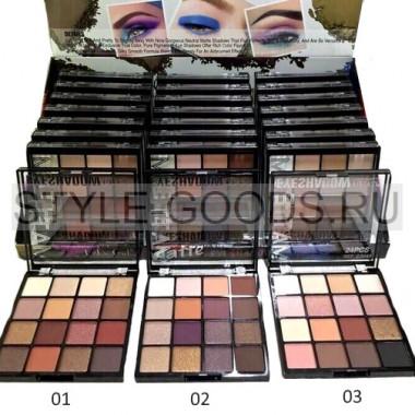 Палетка теней для век DoDo Girl Matte Eyeshadow, 16 цветов