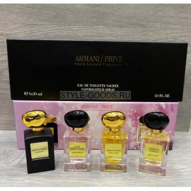 Набор парфюмерии Armani/ Prive,  4 х 30 мл