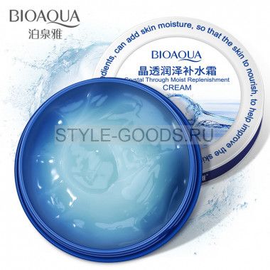 Крем для лица Bioaqua Crystal Through Moist Replenishment
