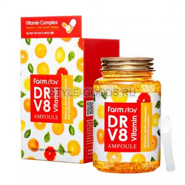 Сыворотка FarmStay DR-V8 Vitamin Ampoule