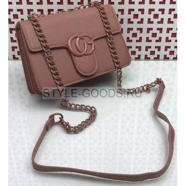 Женская сумка на цепочке из экокожи