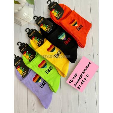 Носки спортивные универсальные (упаковка 10 пар)