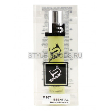 Духи Shaik 107 - Lacoste Essential , 20 ml (м)