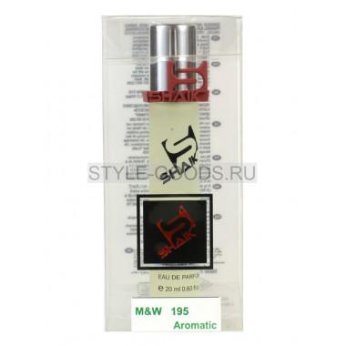 Духи Shaik 195 - Wood Sage&Sea Salt, 20 ml (unisex)