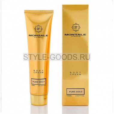 Парфюмированный лосьон для тела Pure Gold Montale