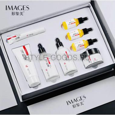 Подарочный набор уходовой косметики Images six peptide