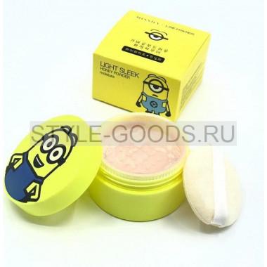 Рассыпчатая пудра для лица Missha Light Sleek Honey