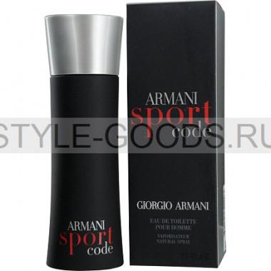 Giorgio Armani Code Sport, 75 ml (м)