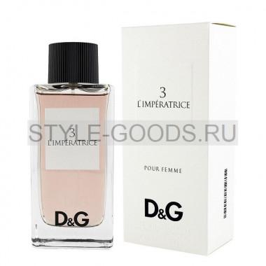 Dolce&Gabbana 3 L`Imperatrice, 100 ml (ж)