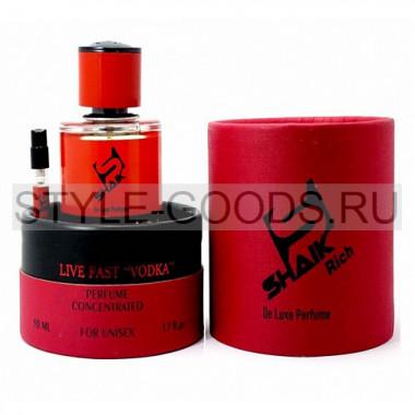 Духи Shaik RICH Live Fast Vodka + пробник, 50 ml (unisex)