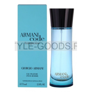 "Giorgio Armani ""Code Turqouise"", 75 мл (м)"
