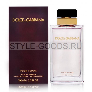 "Dolce&Gabbana ""Pour Femme"", 100 мл (ж)"