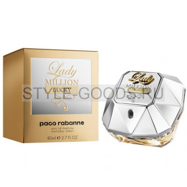 Paco Rabanne Lady Million Lucky, 80 мл (ж)