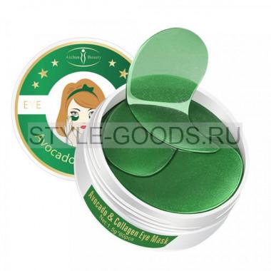 Патчи гидрогелевые для глаз Avocado&Collagen