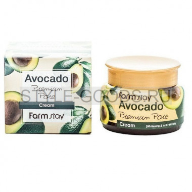 Крем для лица Farm Stay Avocado от пигментации
