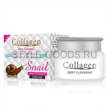 Крем для лица Collagen Deep Cleansing Snail