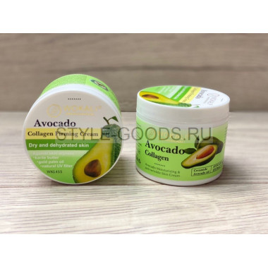Крем для лица Wokali Avocado Collagen Firming