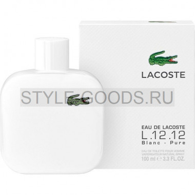 Lacoste L.12.12 Blanc, 100 ml (м)