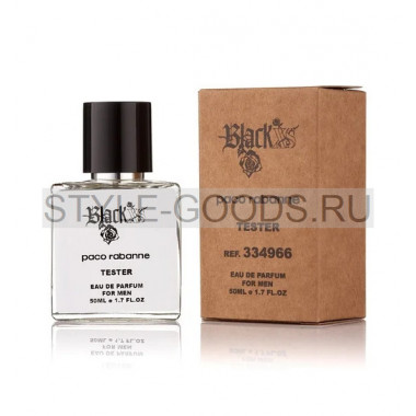 Tester PACO RABANNE BLACK XS men, 50ml (м)