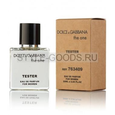 Tester DOLCE&GABBANA THE ONE, 50ml (ж)