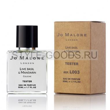 Tester J. M. LIME BASIL&MANDARIN COLOGNE, 50ml (ж/м)