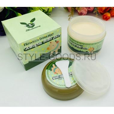 Пузырьковая маска для лица Elizavecca Green Piggy Collagen Jella Pack