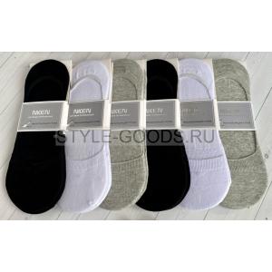 Носки-следки мужские нескользящие (12 пар)