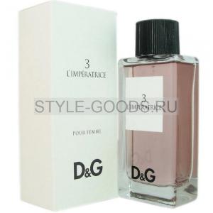 Dolce&Gabbana 3 L`Imperatrice, 100 ml (Турция) (ж)
