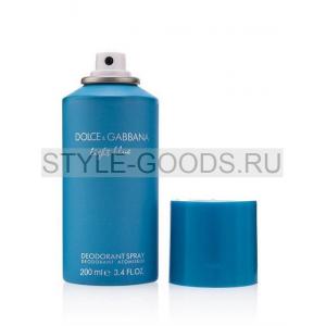 Дезодорант D&G Light Blue, 200 мл (ж)
