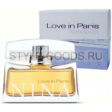 """Nina Ricci """"Love In Paris"""""""