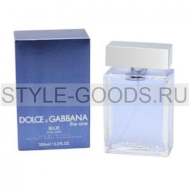 "Dolce & Gabbana ""The One Blue Man"""