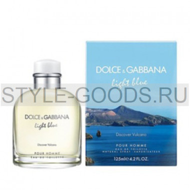 "Dolce & Gabbana ""Light Blue Discover Vulcano Pour Homme"""