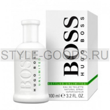 "Hugo Boss ""Bottled Unlimited"""