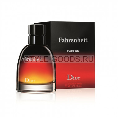 """Christian Dior """"Fahrenheit Parfum"""" 75 мл"""