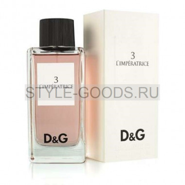 "D&G ""3 L`Imperatrice"", 100 мл"