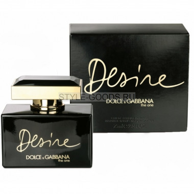 "D&G ""The One Desire"", 75 мл"