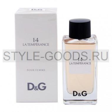 "D&G ""14 Anthology la Temperance"", 100 мл"