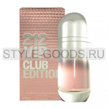 "Carolina Herrera ""212 VIP Club Edition"", 80 мл"