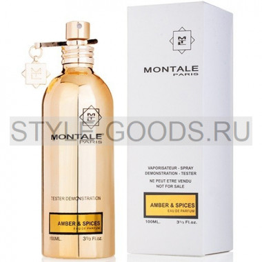 "Montale ""Amber & Spices"", 100 ml (тестер)"