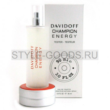 "Davidoff ""Champion Energy"", 90 мл (тестер)"