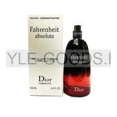 """Christian Dior """"Fahrenheit Absolute"""", 100 мл (тестер)"""