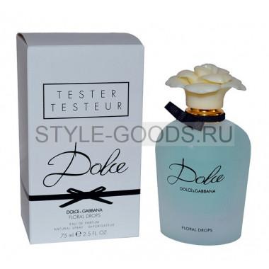 "D&G ""Dolce Floral Drops"", 75 мл (тестер)"