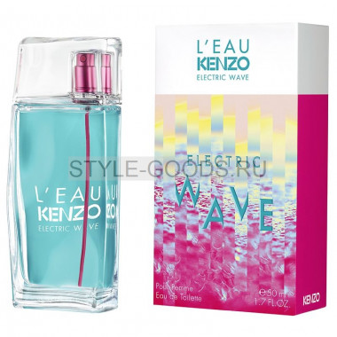"Kenzo ""L'eau Electric Wave"" for women, 100 мл"