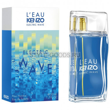 "Kenzo ""L'eau Electric Wave"" for men, 100 мл"
