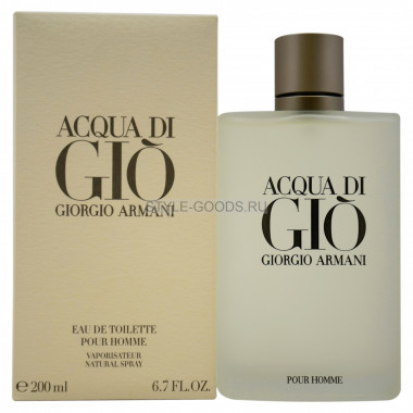 "G.Armani ""Acqua Di Gio Men"", 200 мл"