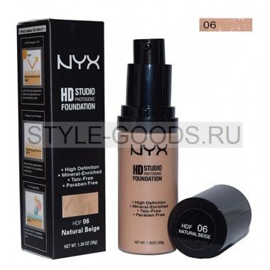Тональный крем NYX HD Studio Foundation № 6