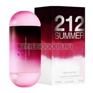 """Carolina Herrera """"212 Summer"""", 80 мл (ж)"""