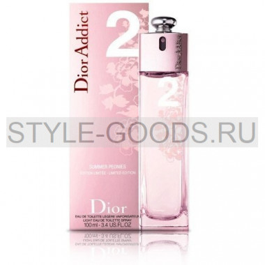 "Christian Dior ""Addict 2 Summer Peonies"", 100 мл (ж)"
